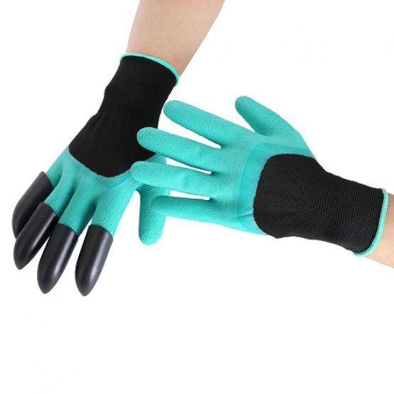Rękawice ogrodowe Z PAZURKAMI