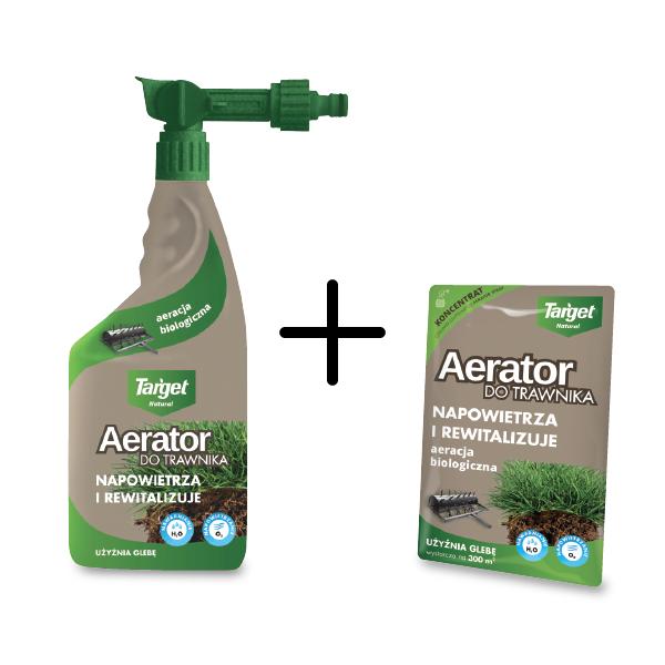 Aerator Do Trawnika w Płynie 600 ml + Koncentrat 30 ml  – Target