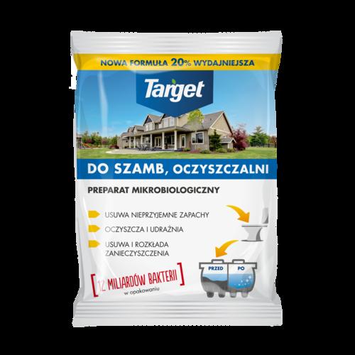 Preparat oczyszczający i udrażniający oczyszczalnie przydomowe i szamba – 120 g | Target