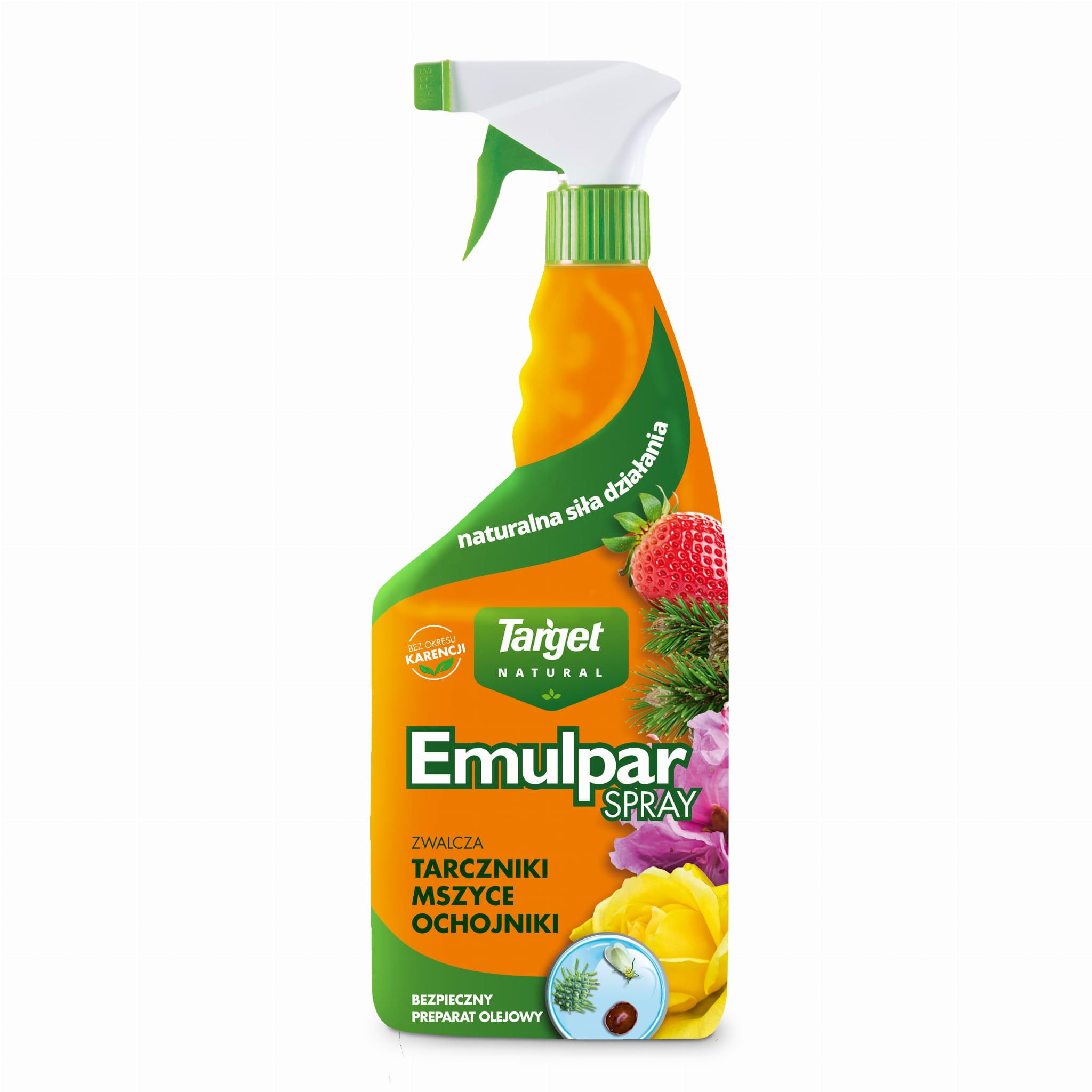 Emulpar Spray – Zwalcza ochojniki, tarczniki i mączliki na roślinach ozdobnych i warzywach – 750 ml | Target