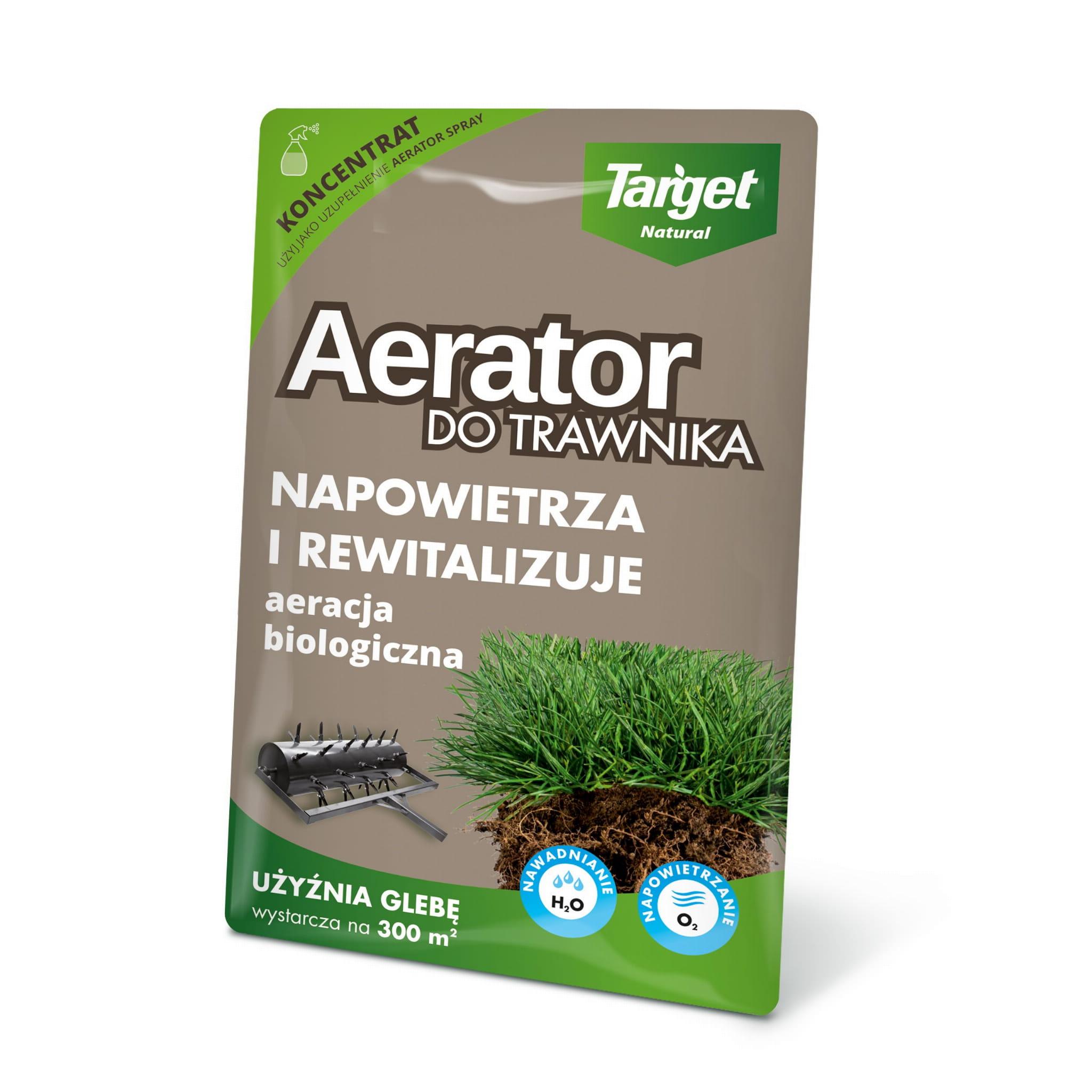Aerator w płynie do trawników (koncetrat) – 30 ml | Target