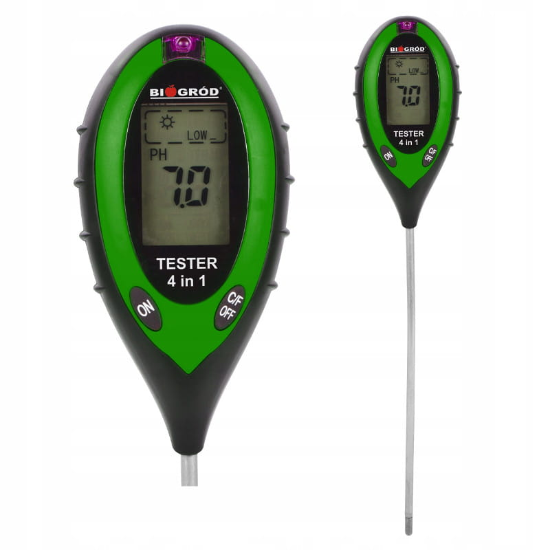 Miernik pH-metr glebowy elektroniczny