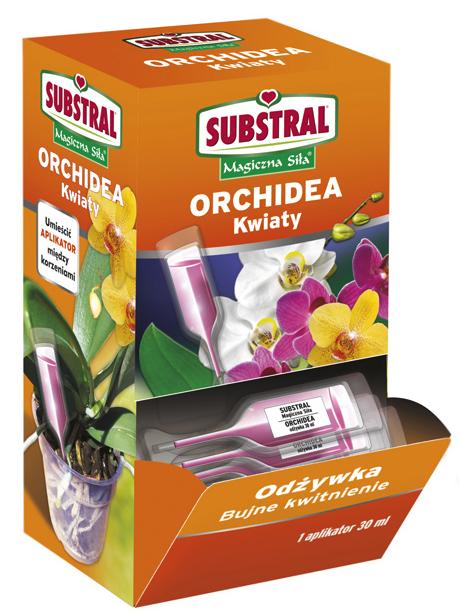 Nawóz aplikator do storczyków, orchidei SUBSTRAL 30 ml