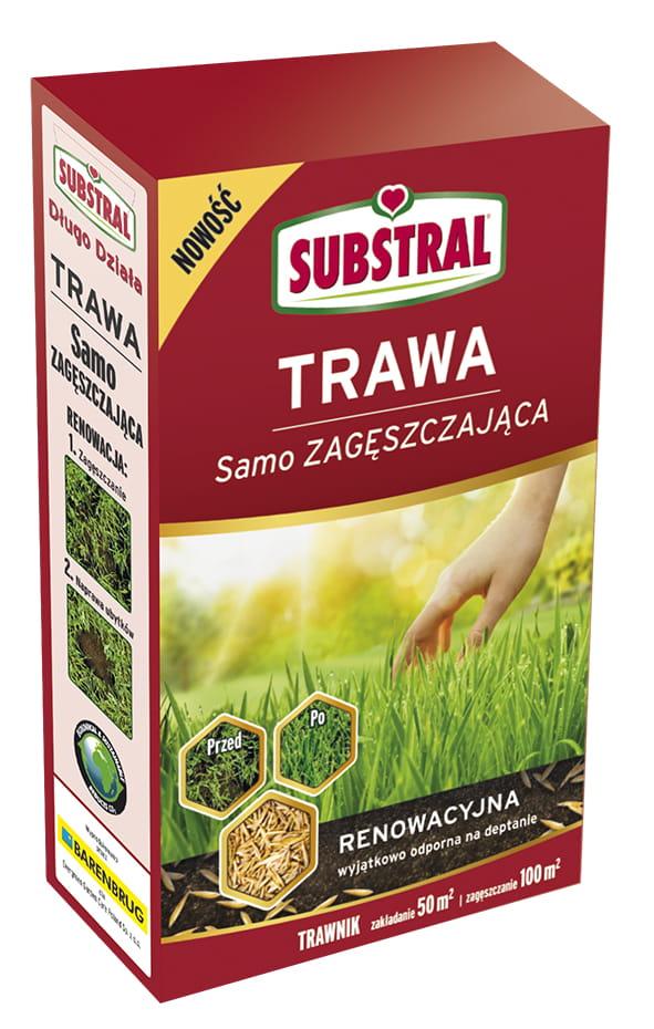 TRAWA Samo ZAGĘSZCZAJĄCA  RENOWACYJNA 1 kg SUBSTRAL