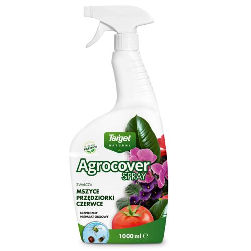 Agrocover Spray zwalcza mszyce, przędziorki, czerwce 1l